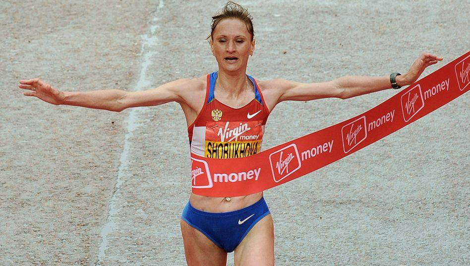 Marathonläuferin Schobuchova: 200.000 Dollar gezahlt
