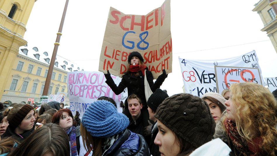 Schüler in München (Februar 2010): Westdeutsche wollen zurück zum Abi nach Klasse 13