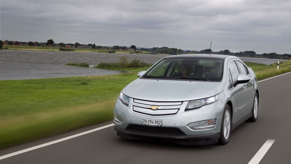 Chevrolet Volt: Kraftwerk an Bord