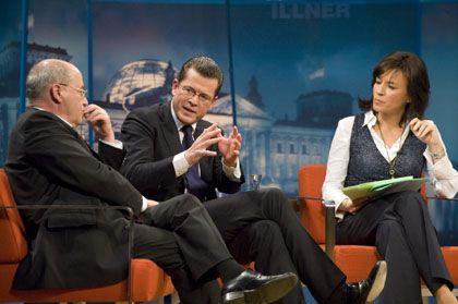 Gysi und zu Guttenberg bei Maybrit Illner: Revolution nicht herbeireden