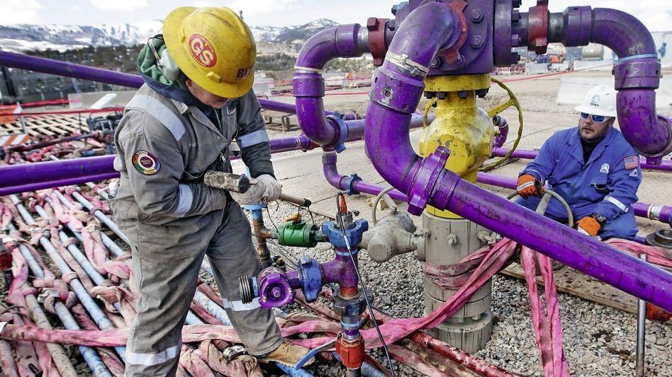 Fracking in Colorado, USA