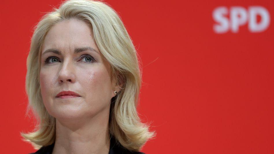 """Fordert """"mehr Respekt vor ostdeutschen Lebensleistungen"""": SPD-Politikerin Manuela Schwesig"""