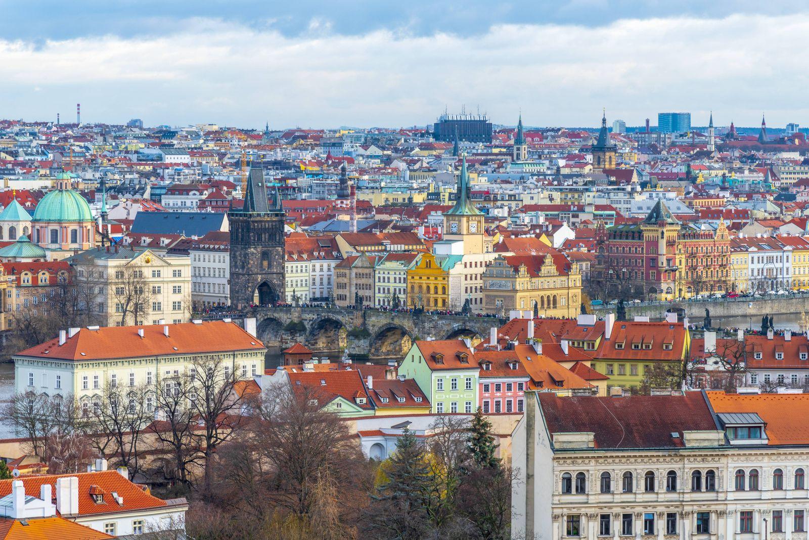 EINMALIGE VERWENDUNG Prag