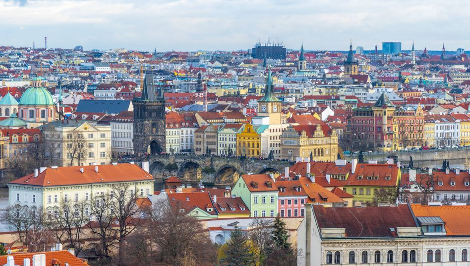 Blick auf die tschechische Hauptstadt Prag (Symbolfoto)