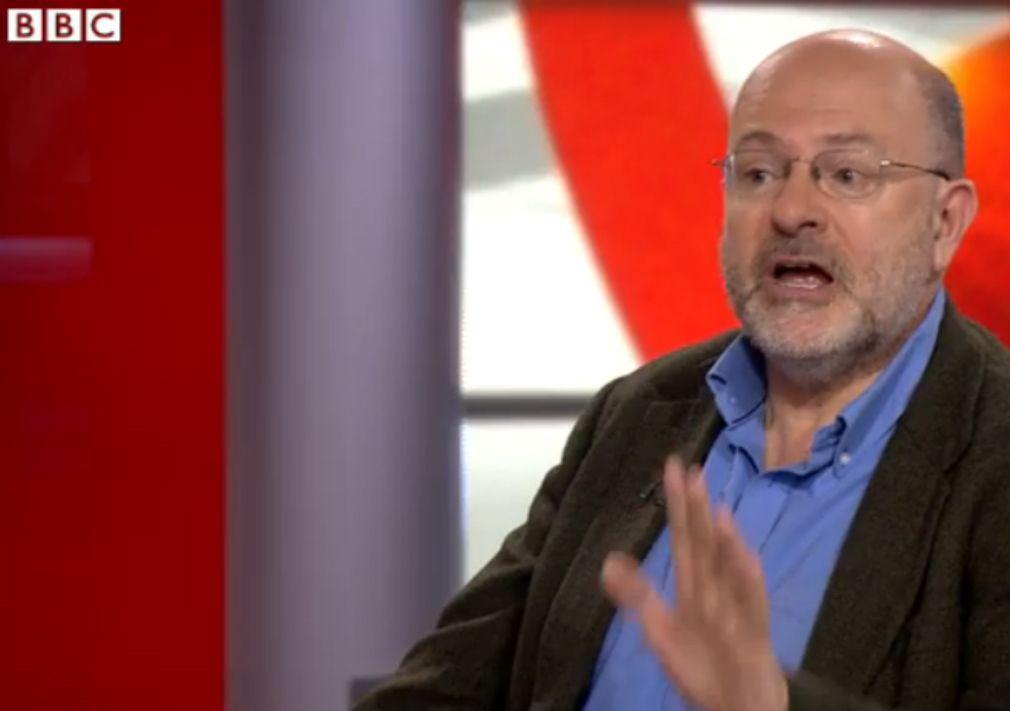 NUR ALS ZITAT Screenshot BBC/ John Sweeney