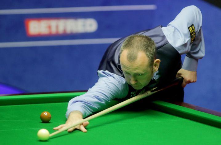 Mark Williams im Finale der Snooker-WM