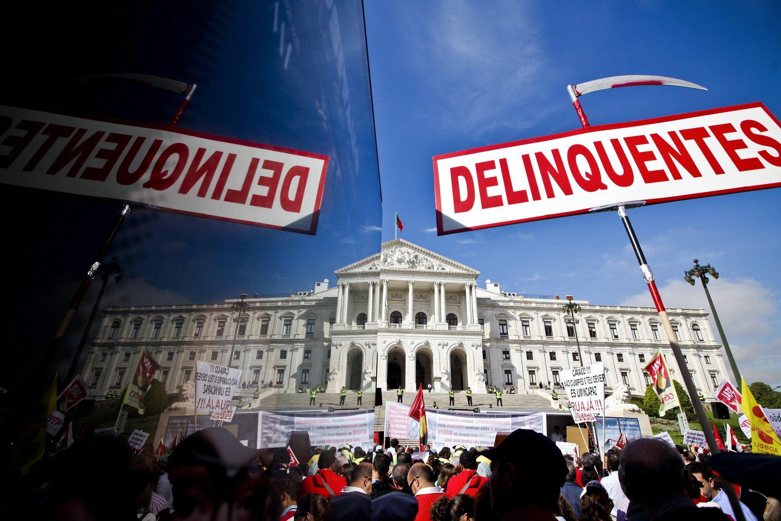 Lissabon Proteste