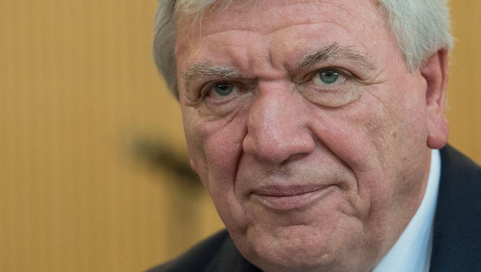 Ministerpräsident Volker Bouffier