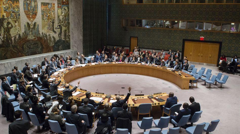 Abstimmung im UN-Sicherheitsrat