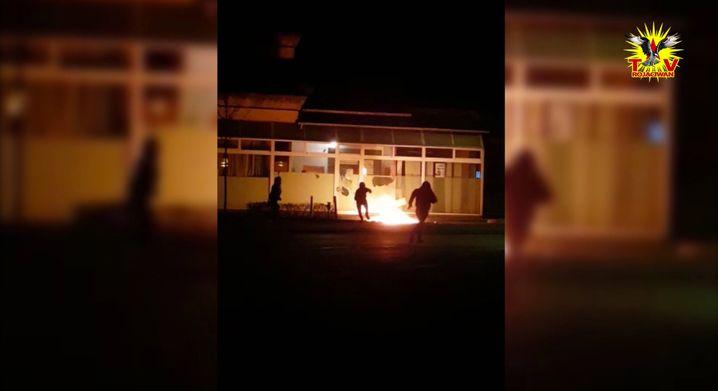 Screenshot aus Bekennervideo