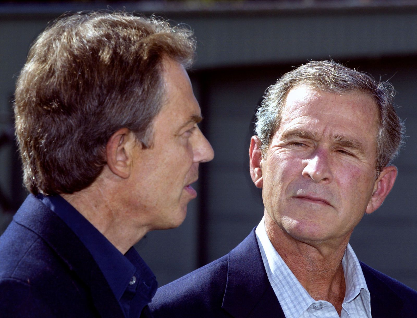 Irakkrieg/ Blair Bush