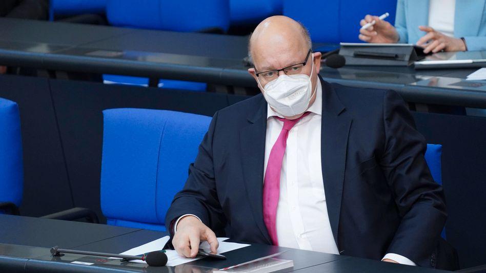 Wirtschaftsminister Peter Altmaier: »Auch wieder vor Ort arbeiten«