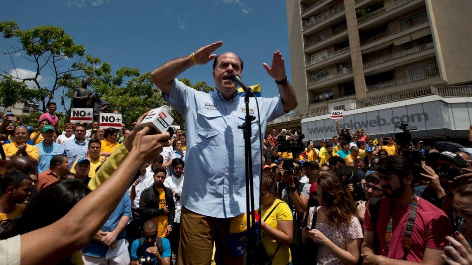Julio Borges, Präsident des venezolanischen Parlaments