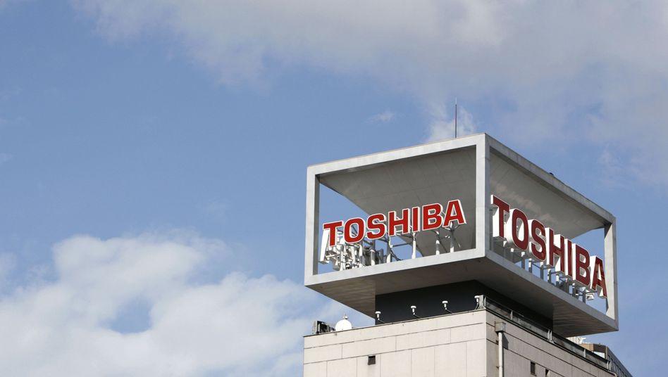 Toshiba-Zentrale in Tokio: Jahresbericht erneut verschoben