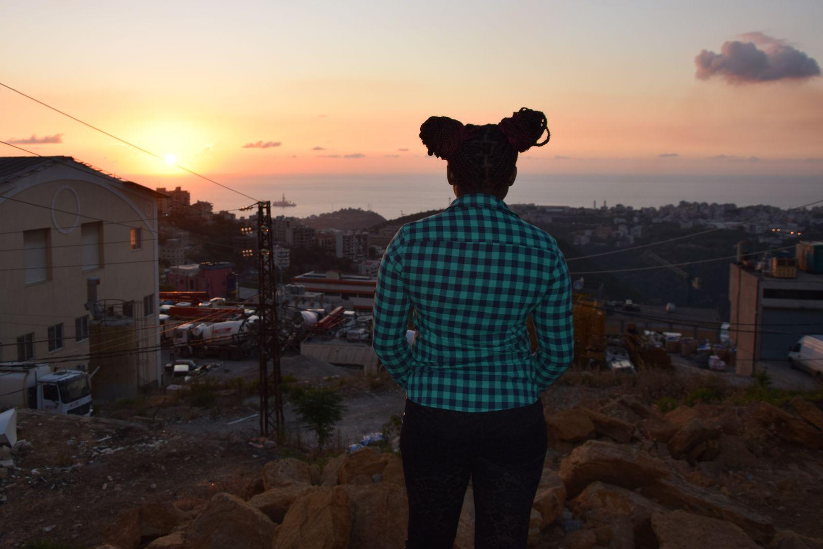 Black Lives Matter im Libanon/ Bilder von Thore Schröder