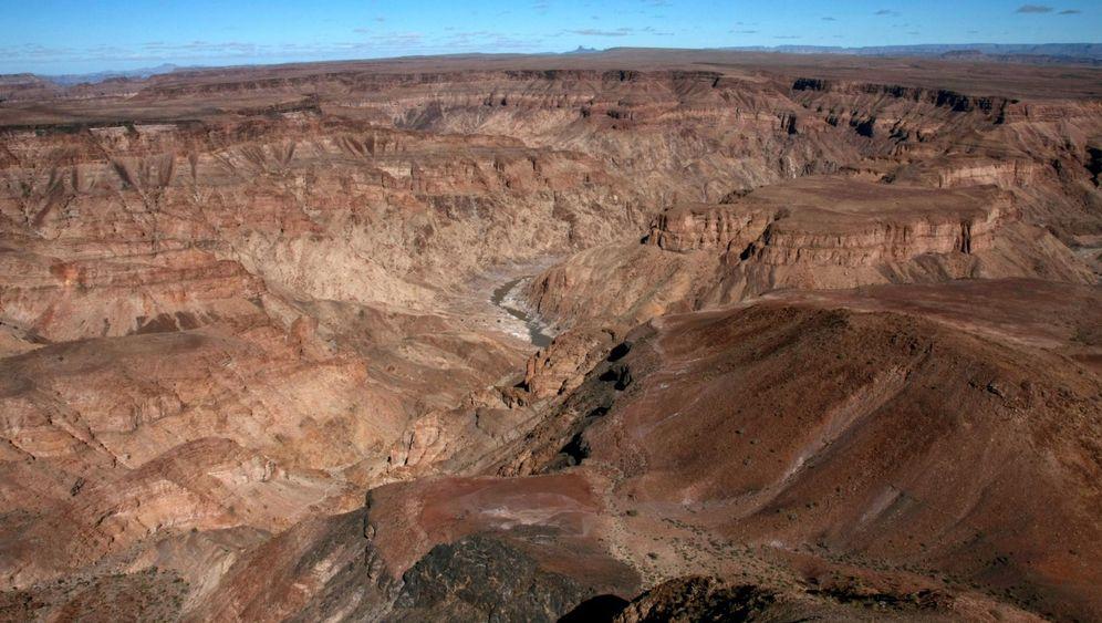 Fish River Canyon in Namibia: Furche in der Wüste