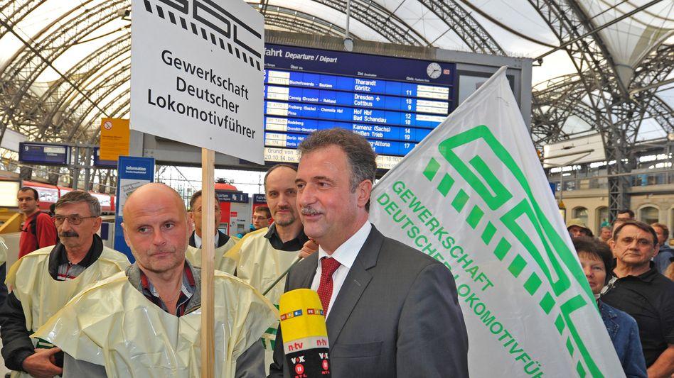 """Mega-Bahnstreik der GDL: """"Weselsky verliert jedes Maß"""""""