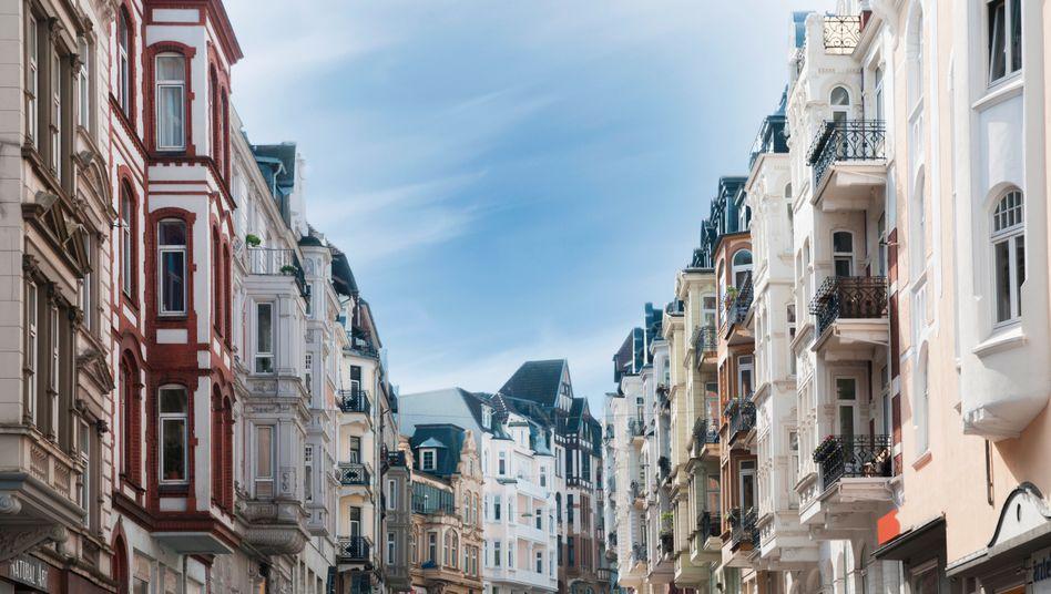 Altstadt in Flensburg