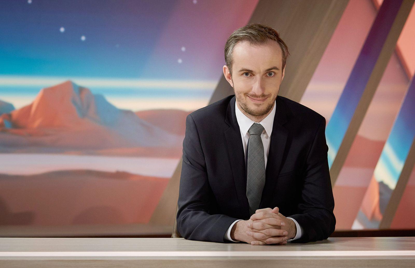 EINMALIGE VERWENDUNG Jan Böhmermann