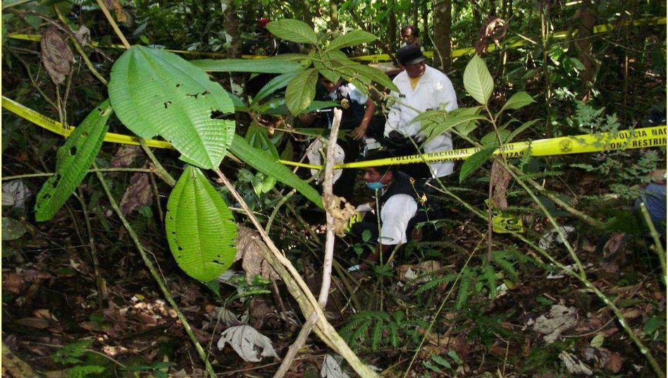 Polizeieinsatz im peruanischen Dschungel: 10.000 Euro für einen Liter menschlichen Fetts