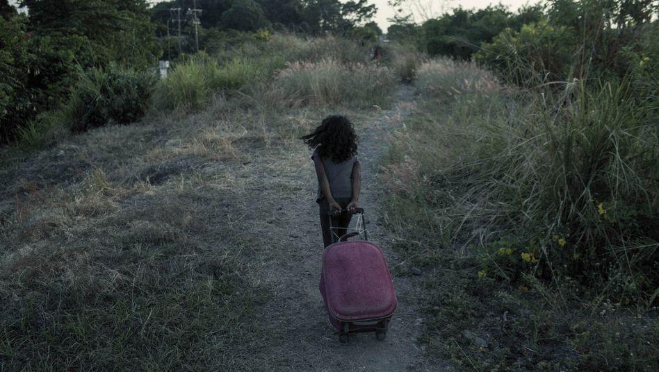 Unbegleitetes Kind nahe der US-Grenze in Mexiko (Archivbild)
