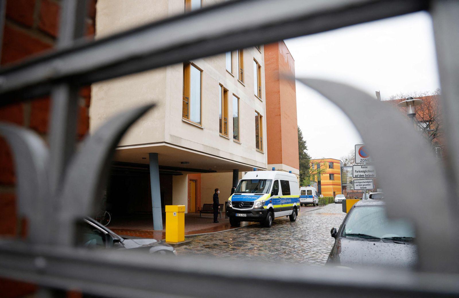 GERMANY-CRIME-HOSPITAL-DISABLED-POLICE