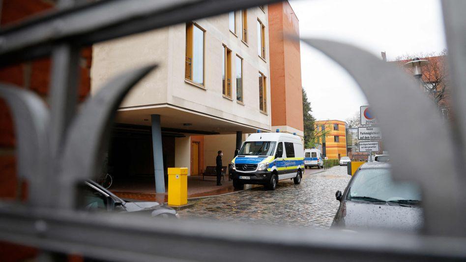 Tatort Oberlinhaus: Polizeieinsatz in Potsdam