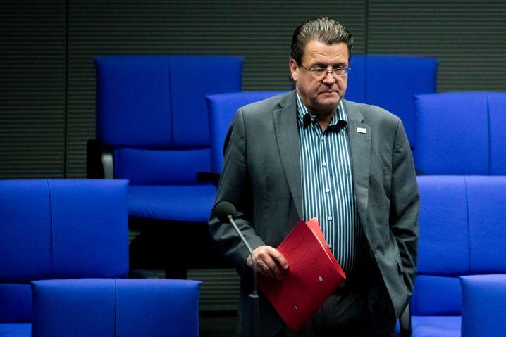 AfD-Politiker Stephan Brandner im Bundestag: Vertreter aus dem Thüringer Landesverband von Björn Höcke