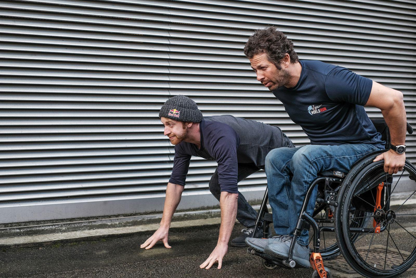 EINMALIGE VERWENDUNG Achilles / Mountainbike / Querschnittslähmung