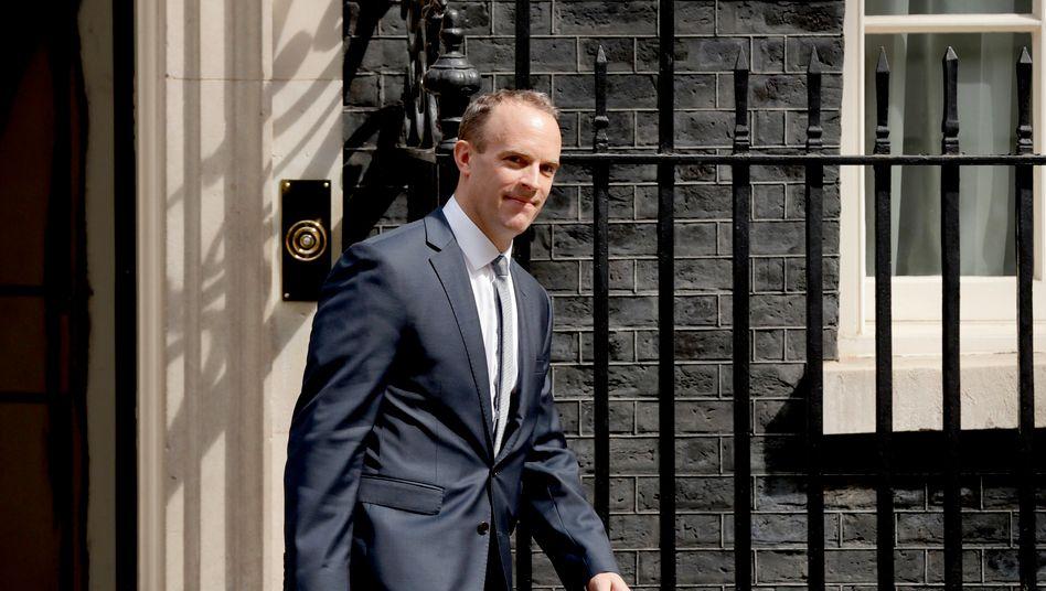 Britischer Außenminister Dominic Raab: »Das Militär muss zurücktreten«