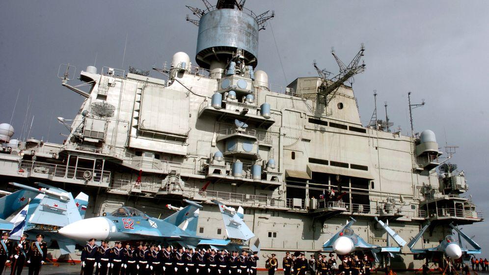 Moskaus Machtspiele: Russische Kriegsschiffe in Syrien