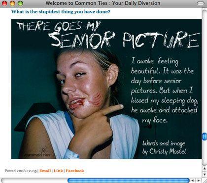 Screenshot commonties.com