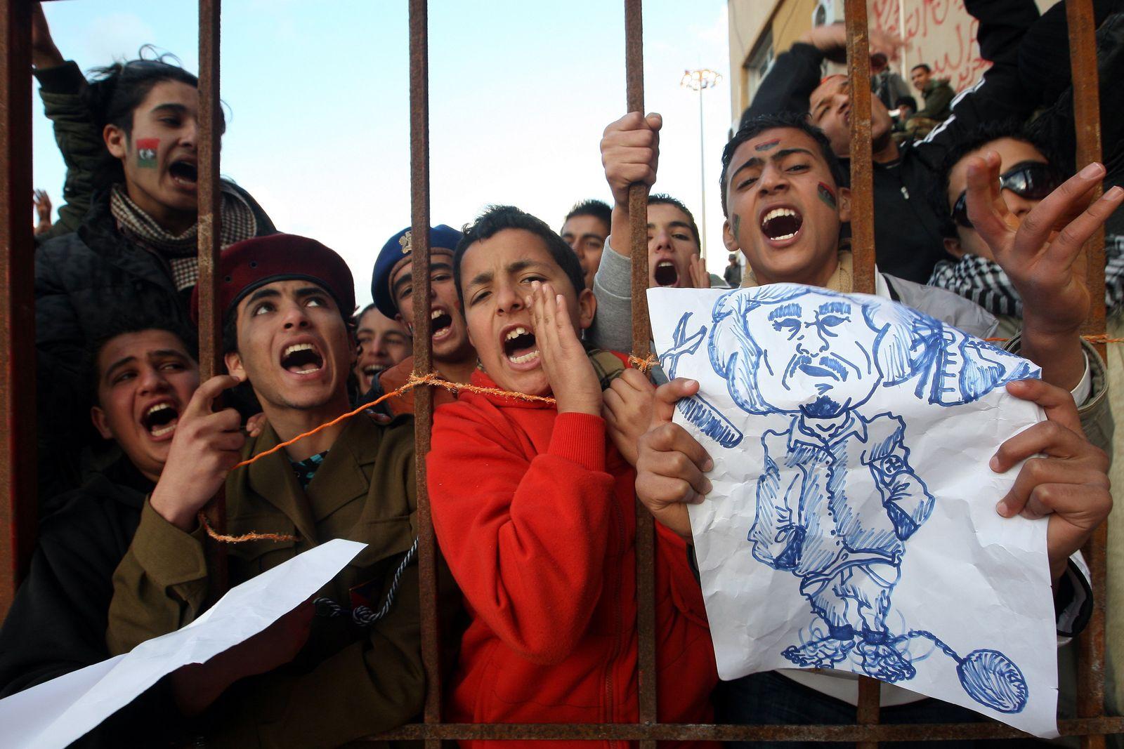 Libyen Proteste Sonntag
