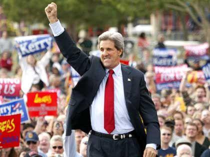 """Wahlkämpfer Kerry: """"Ich wollte Bush ärgern"""""""