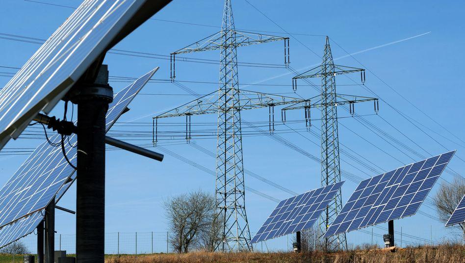 """Strommasten und Solarbäume: """"Das Zauberwort lautet Flexibilisierung"""""""