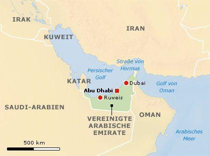 Abu Dhabi: Emirat und Hauptstadt in der arabischen Wüste