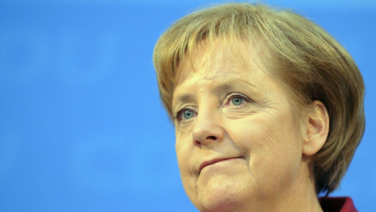 Feuerwehrmann Merkel