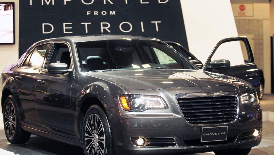 Chrysler-Modell auf der Washington Auto Show: Börsengang als Notlösung