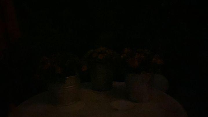 Das linke Bild wurde ohne, das rechts mit dem Nachtmodus aufgenommen