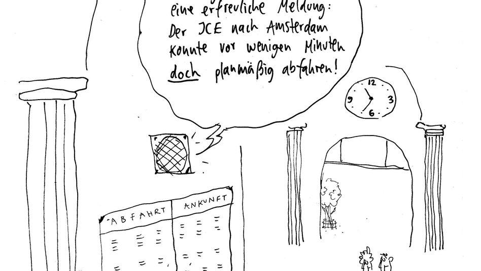 Irre Zug Durchsagen Was Leser Mit Der Bahn Erlebten Der Spiegel