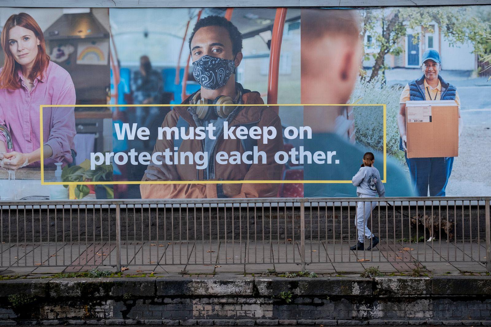 NHS Coronavirus Protection Billboard Ad