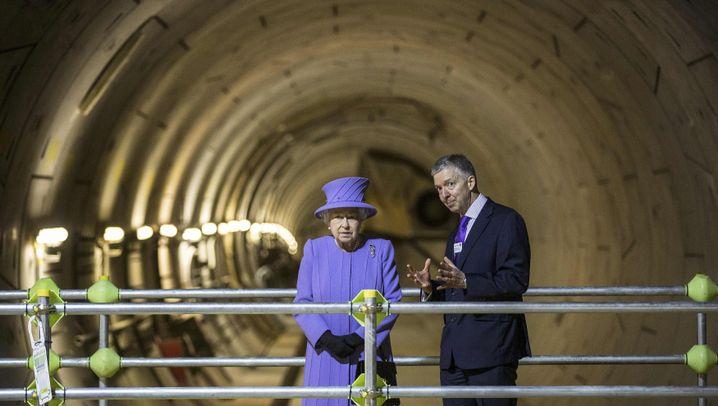 Elizabeth Line: Die Königin und ihre Tube