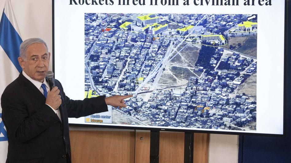 Benjamin Netanyahu will den Militäreinsatz im Gazastreifen fortführen