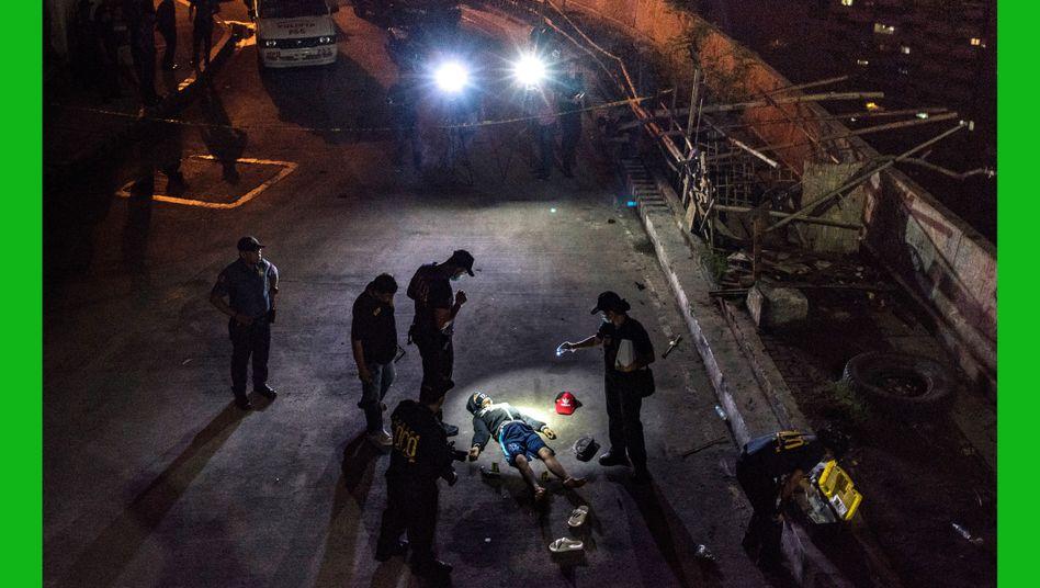 Opfer des Antidrogenkriegs auf den Philippinen