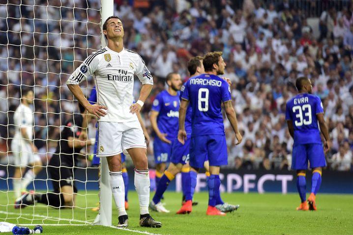 Ronaldo nach dem Abspiel: Ärger über sich selbst