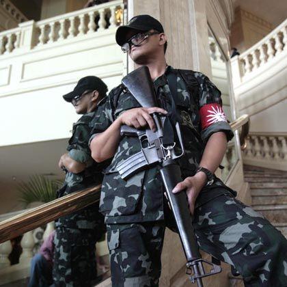 Philippinische Spezialkräfte in dem Hotel in Manila: Augenzeugen berichteten von Schüssen