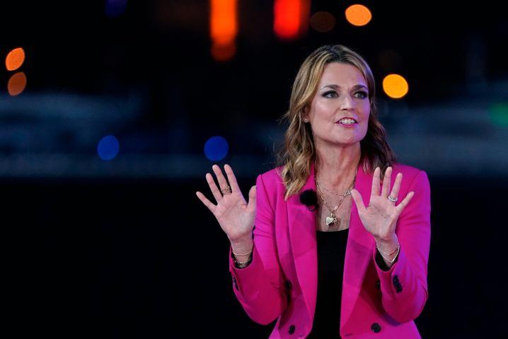 Keine Zeit für Lügen: NBC-Moderatorin Savannah Guthrie