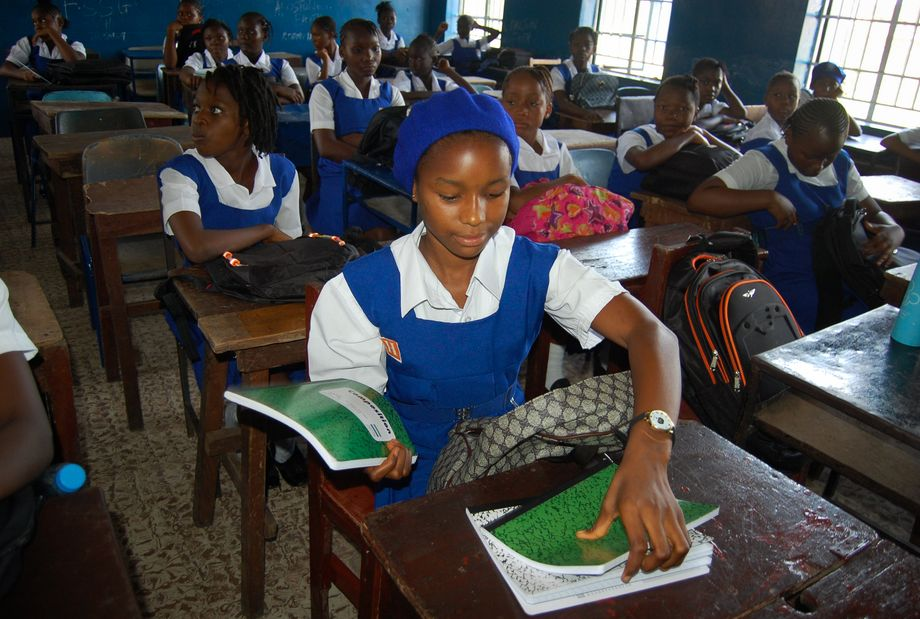 Schulkinder in Sierra Leone: Für Mädchen bedeutet der Unterricht nicht nur Bildung, sondern auch Sicherheit