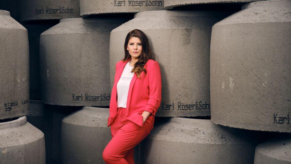 Unternehmerin und Verbandsfunktionärin Sarna Röser