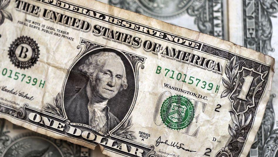Ein-Dollar-Note: Dauerhafte Talfahrt?